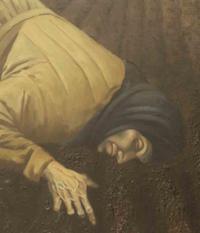 """""""Zemlia"""" by Bohdan Pevnyi (detail)"""